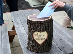 Picture of Place Your Rustic Log Box