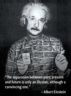 Albert Einstein Time Picture Quote                                                                                                                                                                                 More