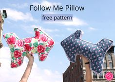 Free Pattern // Follow Me Pillow | Dear Stella Design Sewing Hacks, Sewing Ideas, Abc For Kids, Cushions, Pillows, Poufs, Summer Of Love, Follow Me, Something To Do