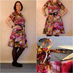 McCalls Dress Collage