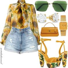 Image may contain: sunglasses and shorts Black Girl Fashion, Look Fashion, Fashion Outfits, Womens Fashion, Girl Outfits, Classy Outfits, Stylish Outfits, Afro, Looks Style