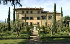 Tuscan Paradise for Sting and Trudie Styler. The 16th-century villa was built as a hunting lodge for the dukes of San Clemente.