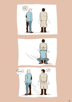 Destiel fanart (matisschaga.tumblr.com)