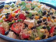 Quinoa Salad with black beans- pressure cooker