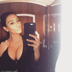 Kim Kardashian West Hates Her Boobs Because They Are Too Huge