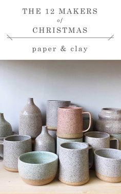 shop small this holiday season with gorgeous gifts from @paperandclay // jojotastic.com #12makersofchristmas