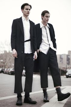 justdropithere:  Frederik Ruegger & Niclas Nilsson by Danny Roche - Chasseur magazine