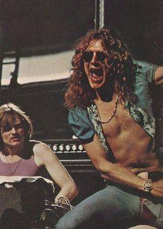 Robert Plant and John Paul Jones - Led Zeppelin