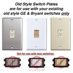 ge rs232p standard low voltage switch pinterest