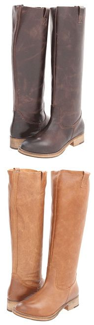 """You may ask, """"How many pairs of brown boots do I really need?"""" And the answer would be, """"One of every style & shade!"""""""
