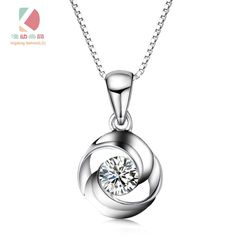 circle of love series promise of love necklace fashion exquisite gift Lingdong fashion silver sexy pendant. Diamond Solitaire Necklace, Diamond Pendant, Contemporary Jewellery, Modern Jewelry, Love Necklace, Fashion Necklace, Opal Jewelry, Diamond Jewelry, Diamond Jhumkas