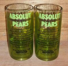 Liquor bottle glasses!
