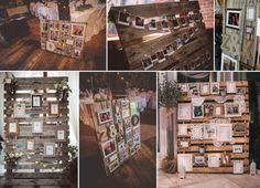 15 Ways to Display Photos At Your Wedding