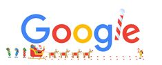 holidays 2018 - day 1 in the southern hemisphere Google Doodles, Google Doodle Today, Christmas Doodles, Merry Christmas And Happy New Year, Happy Holidays, Christmas Eve, Google Days, Santa Tracker, Reindeer And Sleigh