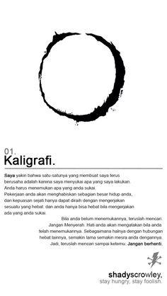 01. Kaligrafi