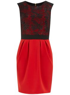 Red sequin lampshade dress - View All - Dresses - Dorothy Perkins United States - $44