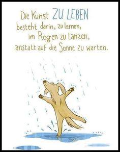 im Regen tanzen