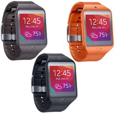 I love the orange! This would be great to use at work! Samsung Gear 2 Neo Smartwatch - Black, Grey & Orange.