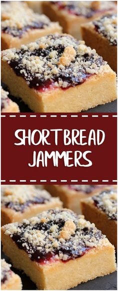 Shortbread Jammers  #shortbread #jammers #easyrecipe #delicious #foodlover #homecooking #cooking #cookingtips