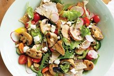 Barbecue Mushroom Salad Its fresh, tasty and ultra healthy, thanks to the power of mushrooms.