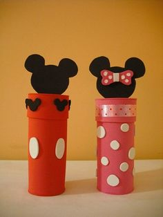 Minni y Mickey Mouse Minnie Y Mickey Mouse, Fiesta Mickey Mouse, Mickey Mouse Clubhouse Birthday, Mickey Party, Mickey Craft, Art For Kids, Crafts For Kids, Mickey And Friends, Mouse Parties