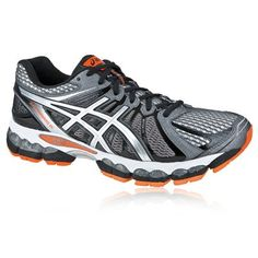Asics Gel-Nimbus 15 Men's Running Shoes Dark Gray Silver Orange,Order popular and super sneakers here would bring you big surprise.