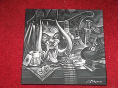 Cool Lemmy/Motorhead artwork...