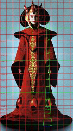 ~Please also have a look at my other Star Wars costume reproductions! ~ Navigation menu for this costume: Analysis of the costume – Making the headdress – Making the gown Queen Amidala … Rainha Amidala, Queen Amidala Costume, Star Wars Dress, Star Wars Love, Throne Room, Star Wars Costumes, Royal Red, The Force Is Strong, Costume Patterns