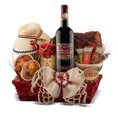 Cum arata un cos de cadouri ideal ? Wine Rack, Wines, Cos, Gift, Bottle Rack, Wine Racks, Gifts, Presents