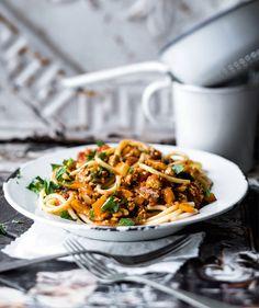 Orient-Style-Tofu-Bolognese - veganes Rezept-amicella