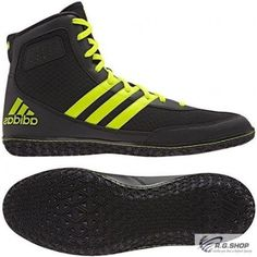 adidas Mat Wizard.3 black/yellow