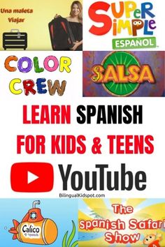 Best YouTube Channels to Learn Spanish for Kids & Teens
