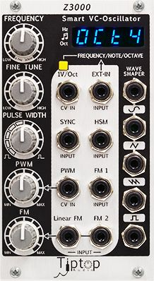 Tiptop Audio z3000 MK2 Smart VCO #eurorack #modular