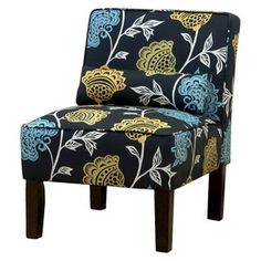 Seedling by Thomas Paul Slipper Chair - Garden Court Charcoal