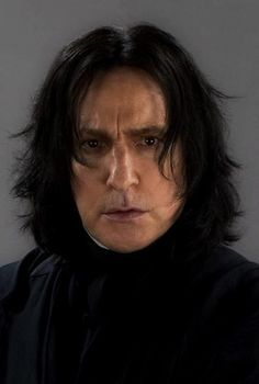 Alan Rickman- played Severus Snape in Harry Potter  He's like the best actor ever!!