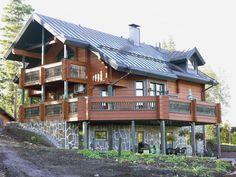 Проект финского дома из клееного бруса KARPO
