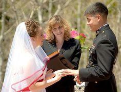 Colorado dream wedding (officiated by officiant Dana Bevis of Denver)
