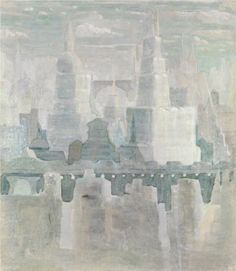 The city - Mikalojus Ciurlionis