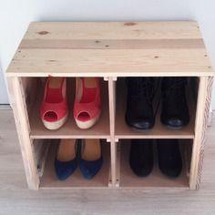 Meuble à chaussures en bois de récup