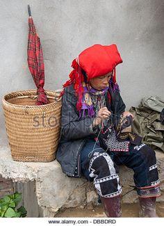 Sapa, Vietnam   embroidery