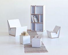 Decoración infantil y juvenil | Muebles de cartón para niños