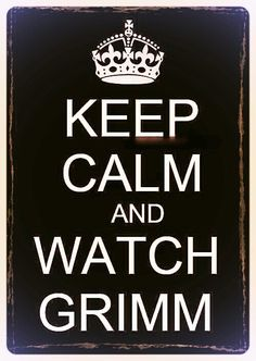 You can't really keep calm with this show because it always ends in a cliff hanger.