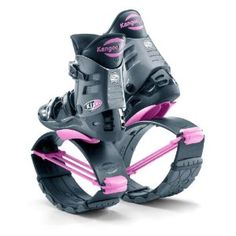 Kangoo Jumps XR-3 Special Black and Pink Medium Womens 7, 8, 9 $249  ... I don't need THESE ones, but a pair of these would be awesome.. and SOON I'll be able to use them :D