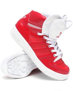 huge discount b842e 400b7 Adidas Women Red M Attitude Logo Heart W Sneakers