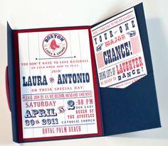 Baseball Team Themed Wedding Invitations Wedding Invites
