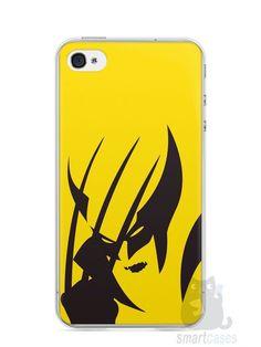 Capa Iphone 4/S Wolverine - SmartCases - Acessórios para celulares e tablets :)