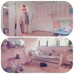 Carisse Iris' room My Darling Rainbow http://mydarlingrainbow.tumblr.com
