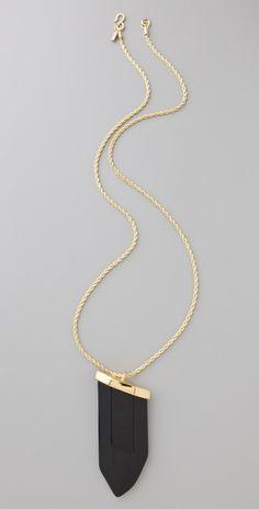 Kenneth Jay Lane    Prism Pendant Necklace  Style #:KJLAN40271  $88.00