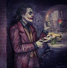 Read from the story Galería Joker by with reads. Joker Batman, Bat Joker, Joker Dc Comics, Joker Pics, Batman Arkham City, Batman Arkham Origins, Batman Comic Art, Joker Art, Joker And Harley Quinn