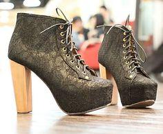 Bunny Wedges (Black) ♥ | ♥ Shoes ♥ | Pinterest | D, Shops and ...